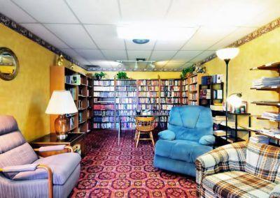Casa Del Sol Library